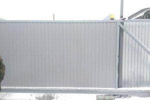 Откатные ворота (Ш-6150,В-2150) под ключ 187000р