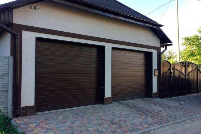 Гаражные секционные ворота DoorHan серии RSD01-SC-№4