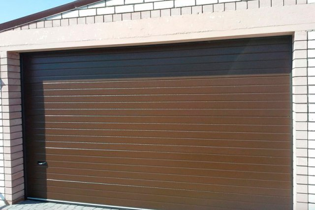 Гаражные секционные ворота DoorHan серии RSD01-SC-№6