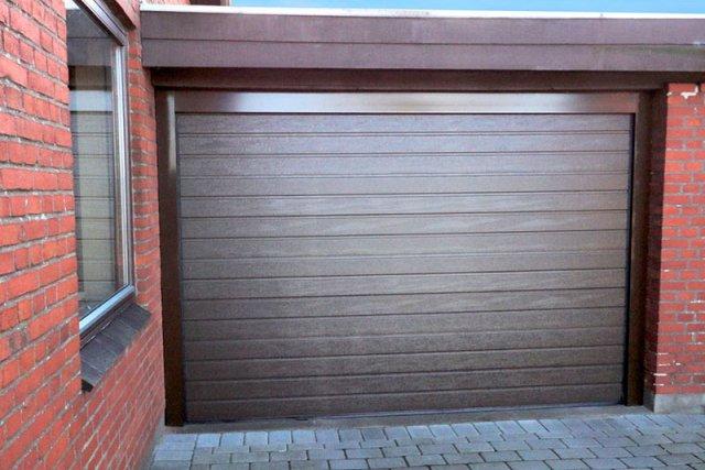 Секционные гаражные ворота Алютех Тренд 2750 на 2125